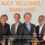 Alex Yellowlees Band Live CD